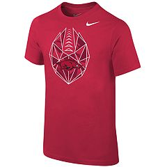 Boys 8-20 Nike Arkansas Razorbacks Football Icon Tee