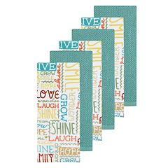 The Big One® Word Toss Kitchen Towel 6-pack