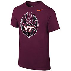 Boys 8-20 Nike Virginia Tech Hokies Football Icon Tee