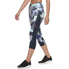 Women's FILA SPORT® Ruched Back Midrise Capri Leggings