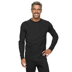 Big & Tall Croft & Barrow® Thermal Base Layer Crewneck Underwear Tee