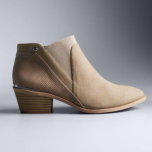 Simply Vera Vera Wang Skylark Women s Ankle Boots c15f55607