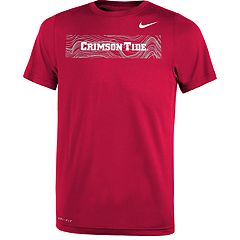 Boys 8-20 Nike Alabama Crimson Tide Legend Sideline Tee