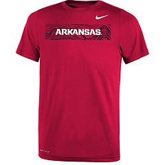 Boys 8-20 Nike Arkansas Razorbacks Legend Sideline Tee