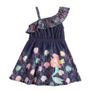 Disney's The Little Mermaid Ariel Toddler Girl Asymmetrical Dress by Jumping Beans®