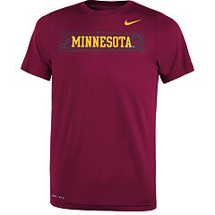 Boys 8-20 Nike Minnesota Golden Gophers Legend Sideline Tee