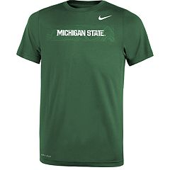 Boys 8-20 Nike Michigan State Spartans Legend Sideline Tee