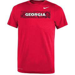 Boys 8-20 Nike Georgia Bulldogs Legend Sideline Tee