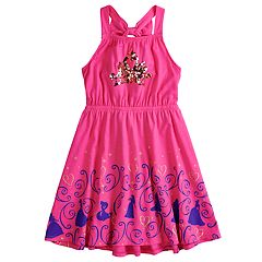 Disney Princess Girls 4-7 Sequined Crown Dress by Jumping Beans®