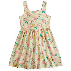 Disney's Beauty and the Beast Belle Girls 4-7 Rose Print Dress by Jumping Beans®