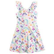 Disney's Minnie Mouse Girls 4-7 Ruffle Cross-Back Dress by Jumping Beans®