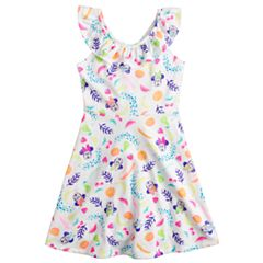 Disney's Minnie Mouse Toddler Girl Ruffle Cross-Back Dress by Jumping Beans®