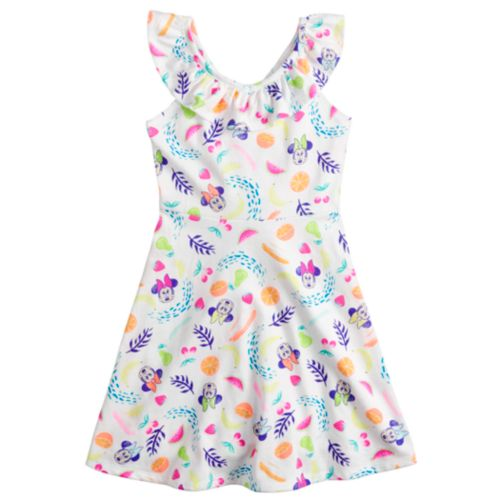 Disney's Minnie Mouse Toddler Girl Ruffle Cross Back Dress By Jumping Beans® by Disney's Minnie Mouse Toddler Girl Ruffle Cross Back Dress By Jumping Beans