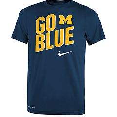 e195157cff0cb2 Boys 8-20 Nike Michigan Wolverines Local Verbiage Tee