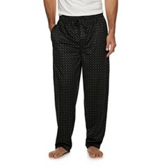 Men's Van Heusen Plaid Silky Fleece Sleep Pants
