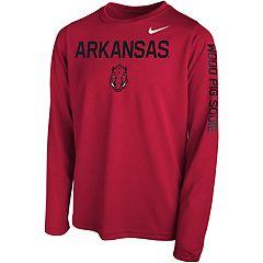 Boys 8-20 Nike Arkansas Razorbacks Legend Core Tee