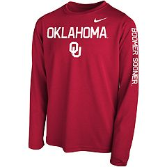 Boys 8-20 Nike Oklahoma Sooners Legend Core Tee