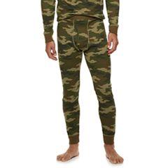 Big & Tall Croft & Barrow® Camo Thermal Base Layer Underwear Pants