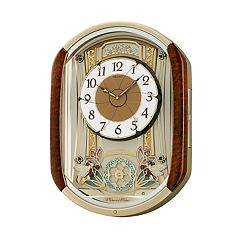 Seiko Melodies In Motion Wall Clock - QXM275BRH