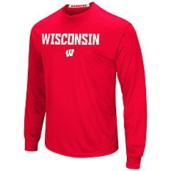 Men's Campus Heritage Wisconsin Badgers Setter Tee