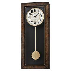 Seiko Musical Pendulum Wall Clock - QXM330BLH