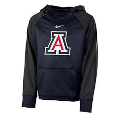Boys 8-20 Nike Arizona Wildcats Therma-FIT Colorblock Hoodie