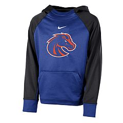Boys 8-20 Nike Boise State Broncos Therma-FIT Colorblock Hoodie