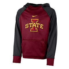 Boys 8-20 Nike Iowa State Cyclones Therma-FIT Colorblock Hoodie
