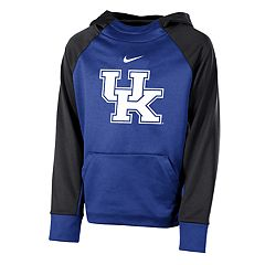 Boys 8-20 Nike Kentucky Wildcats Therma-FIT Colorblock Hoodie
