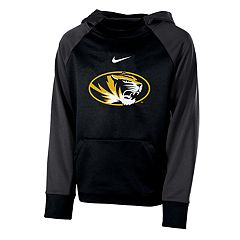 Boys 8-20 Nike Missouri Tigers Therma-FIT Colorblock Hoodie