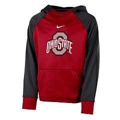 Boys 8-20 Nike Ohio State Buckeyes Therma-FIT Colorblock Hoodie