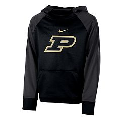 Boys 8-20 Nike Purdue Boilermakers Therma-FIT Colorblock Hoodie