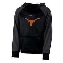 Boys 8-20 Nike Texas Longhorns Therma-FIT Colorblock Hoodie