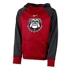 Boys 8-20 Nike Georgia Bulldogs Therma-FIT Colorblock Hoodie