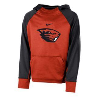 Boys 8-20 Nike Oregon State Beavers Therma-FIT Colorblock Hoodie