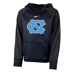 Boys 8-20 Nike North Carolina Tar Heels Therma-FIT Colorblock Hoodie