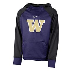 Boys 8-20 Nike Washington Huskies Therma-FIT Colorblock Hoodie