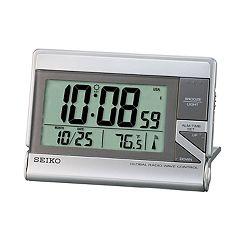 Seiko Global R-Wave Digital Travel Alarm - QHR024SLH