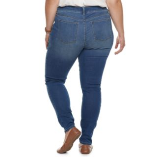 Plus Size SONOMA Goods for Life? High Rise Skinny Jeans