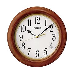 Seiko Wooden Decorative Wall Clock - QXA522BLH
