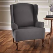 Stretch Sensations Stretch Optic Wing Chair Slipcover