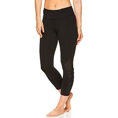 Women's Gaiam Karma Mesh Midrise Capri Leggings
