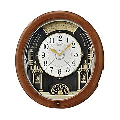 Seiko Melodies In Motion Wall Clock - QXM478BRH