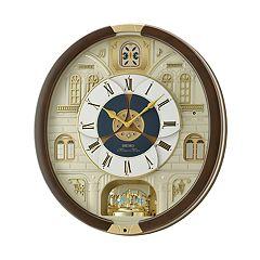 Seiko Melodies In Motion Wall Clock - QXM371BRH