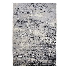 Rizzy Home Encore Contemporary Abstract II Solid Rug