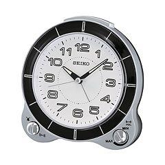 Seiko Bedside Alarm Clock - QHK031SLH