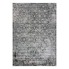 Rizzy Home Encore Traditional Overdyed Trellis Rug