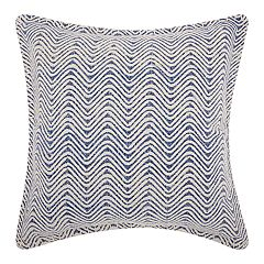 Mina Victory Life Styles Acid Wash Waves Throw Pillow