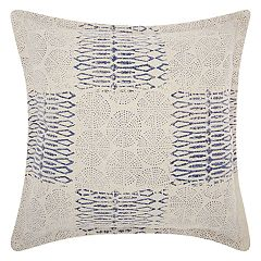 Mina Victory Life Styles Patchwork Circles Throw Pillow