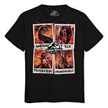 Boys 8-20 Jurassic World Candid Carnivores Tee